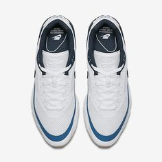 best authentic 2897e 4a660 Chaussure Nike Air Max Bw Pas Cher Femme et Homme Ultra Blanc Bleu  Industriel Jaune Gomme