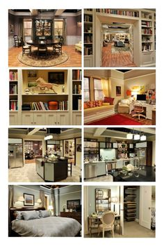 """Alicia's apartment in """"The Good Wife"""""""