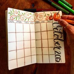 Original calendars for each plan book. If you haven't tried my plan books...stop by my Etsy shop; I can paint one just for you! I paint all sizes for your travelers notebook...link to my shop in bio. New to my plan books? Watch my videos on YT. Channel name: jenny Penton. #jennypentonart #journal #painted #acrylic #fabercastell #pitt #artistpen #art #moleskin #fall #jennypentonart #plannerperfect #plannercommunity #plannerperfectmethod #orhanized #lifeplanning