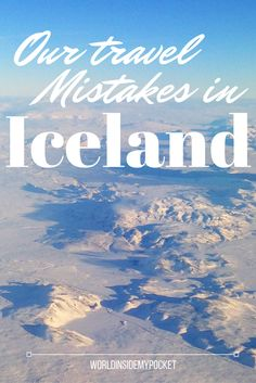 Our weekend in Iceland didn't exactly go quite according to plan...