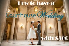 This one is for all of the #courthouse couples out there! If you are planning on having a #courthousewedding check out this post for ideas on how to work with a $500 budget! www.simplyelope.com