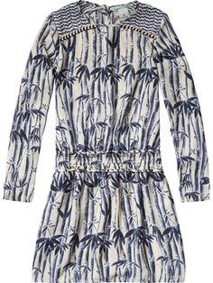 Robe+imprimé+à+bamboo