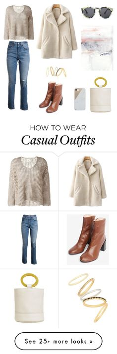 """Casual Cool February"" by stephc on Polyvore featuring Levi's, Simon Miller, Madewell, Illesteva and Native Union"