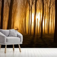Search Results | Wallsauce AU Tree Murals, Wall Murals, Misty Dawn, Magnificent Beasts, Nature Scenes, Wall Wallpaper, Designer Wallpaper, Search, Wallpaper Murals
