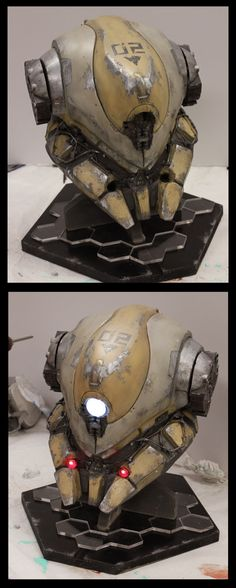 Helmet Project by *ProgV on deviantART