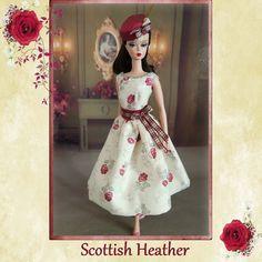 Scottish Heather for Silkstone Barbie Fashion by Rosedollhouse