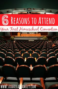 Have you ever been to a homeschool convention? If not? You NEED to! These 6 Reasons to Attend Your First Homeschool Convention say it all!