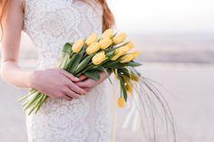 Gelbe Hochzeitsdeko  Friedatheres.com Brautstrauss Tulpen Foto ...