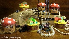 Pirate and Treasure Chest Cupcakes - Arrr !!!