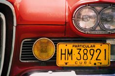 Cuba, Edsel Detail   ©2017 John Galbreath