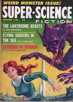 SUPER SCIENCE Fiction / sci-fi magazine