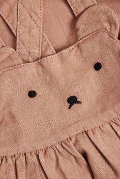 Kopen Cinnamon Bear Face Pinafore (3 mnd-6 jr) from Next Netherlands
