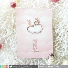 Mama Elephant Clear Stamps - Wish Upon A Star Birthday Fun, Birthday Cards, Mama Elephant Stamps, Diy And Crafts, Paper Crafts, Scrapbooking, Elephant Design, Some Cards, Card Making Inspiration