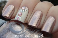 Rage with Swarovski crystals ~ More Nail Polish