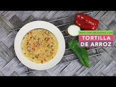 INCREIBLE TORTILLA DE ARROZ | Deliciosa tortilla de arroz con verduras | Tortilla de arroz saludable - YouTube Chefs, Tortillas Veganas, Fitness Tattoos, Homemade Beauty Products, Cheeseburger Chowder, Health Fitness, Soup, Keto, Moda Emo