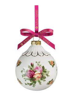 ROYAL DOULTON Old Country Roses Bauble Ornament