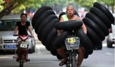 Tyres - Overloaded