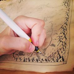 Each custom fantasy map is draw with a mixture of traditional calligraphy pens and modern technical pens to create the best result possible; to create the best world possible.