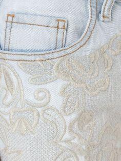 Fillity Short jeans bordado