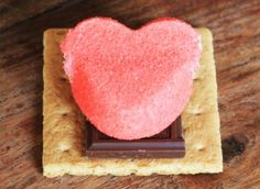 How To Make Valentine Smores… | Fabulessly Frugal: A Coupon Blog Sharing Gift Ideas, Amazon Deals, Printable Coupons, DIY, How to Extreme Coupon, and Make Ahead Meals