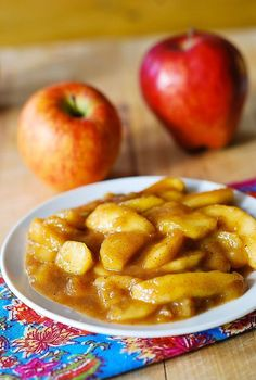 Sweet cooked apples recipe @Julia