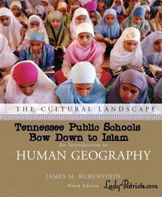 Tennessee Public Schools Bow Down to Islam!  Where are the atheist? The Christians? The slightly intelligent?  Why is it legal to support Islam in public school but not Christianity?  Common Sense anyone?