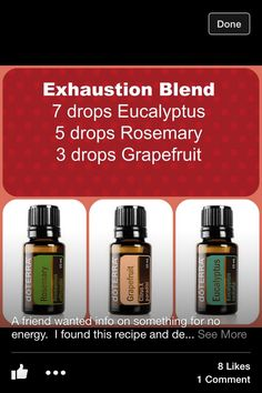Exhaustion blend