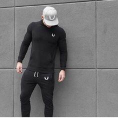 Aesthetic Revolution Training Long Sleeve Tshirt Black ASRV sports Gym Tainer #Drmuscle
