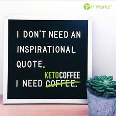 Start your weekend with a Keto Coffee. Make it an Itworks Keto Coffee.Com/en-ca It Works Wraps, My It Works, It Works Marketing, Direct Marketing, It Works Shakes, Keto Coffee Recipe, It Works Distributor, It Works Global, It Works Products