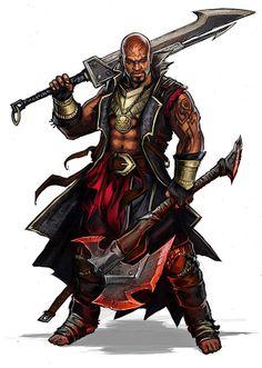 m Barbarian w 2 Swords