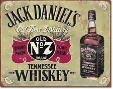 Jack Daniel's Tennessee Whiskey Retro Nostalgie Deko Plakat Metall Schild