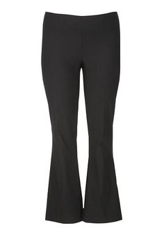 the plus size smart bengaline pull on pant in black (original price, $39) available at #Maurices