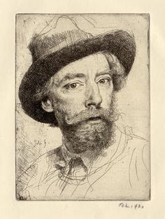 The Art Room Augustus John, Self Portrait