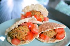 sean s falafel and cucumber sauce substitute almond and flax meal for ...