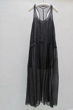 RAQUEL ALLEGRA LONG TANK DRESS    @Rachael Parker - Perf for you! x