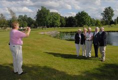 Winner alright ? runner-up Mary McKenna of Donabate takes a picture of the Sheena O?Brien Kenney of Grange Golf Club, winner of the Irish Senior Womens? Close Championship trophy at Hollystown Golf Club, Carmel Brennan, Lady Captain of Hollystown, No Tips on the best golf clubs for women golfers.  Honest reviews by women for women.  Only womens golf clubs on our review site.