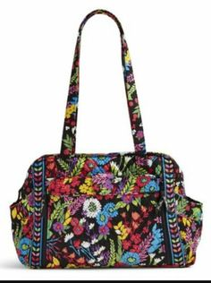 Diaper Bags 169295  Vera Bradley Field Flowers Make A Change Diaper Bag  Rare Nwt - 805867c0e56f3