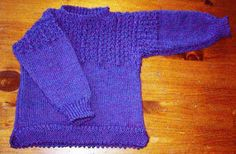 Free Knitting Pattern - Toddler & Children's Clothes: JR's Gansey