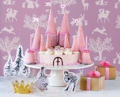 kindergeburtstag-torte-party-traumschloss-prinzessin