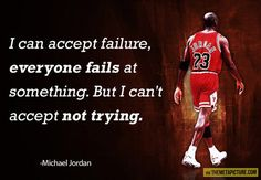 Funny pictures about At least try it. Oh, and cool pics about At least try it. Also, At least try it. Sports Theme Classroom, Classroom Quotes, Classroom Decor, Quotable Quotes, Motivational Quotes, Inspirational Quotes, Never Back Down Quotes, Michael Jordan, Great Quotes