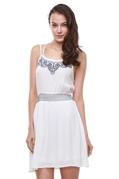 Glostory Women's Casual Sleeveless Backless Tunic Cocktail Prom Mini Dresses 1623 *** Quickly view this special product, click the image : Clothing for Plus size Trendy Plus Size Clothing, Plus Size Outfits, Sexy Party Dress, Summer Dresses, Mini Dresses, Image Clothing, Work Wear, Backless, White Dress