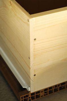 Construction d'un corps de ruche Dadant 10 cadres