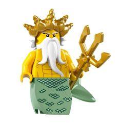 LEGO Minifigures Series 7 Ocean King COLLECTIBLE Figure Underwater Kingdom Sea…