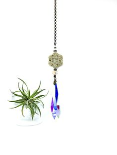 Sun Catcher, Gorgeous Boho Prism Hanging, LG, 76mm Crystal, Crystal Prism Hanging, Home Decor, Window, Garden, Gift, 2 DirtyBirds Boutique by 2DirtyBirdsBoutique on Etsy Crystal Drop, Faceted Crystal, Swarovski Crystals, Awesome Gifts, Cool Gifts, Best Gifts, Prism, Hanging Crystals, Window Hanging