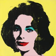 Andy Warhol's Liz #1 (Early Colored Liz) Andy Warhol and His Process   Sotheby's