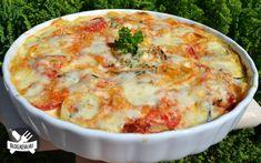 Cukkinis burgonya gratin recept fotóval