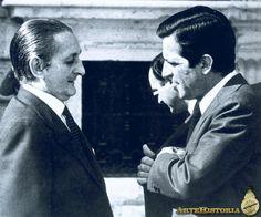 Adolfo Suárez y Torcuato Fernández Miranda, presidente de las Cortes - Obra - ARTEHISTORIA V2