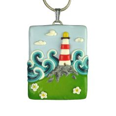 Way too clever for me to try! what an amazing pendant all made of Fimo.