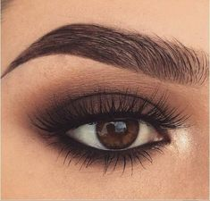 Magnificence Hacks 20 Hottest Smokey Eye Make-up Concepts Article P Eye Makeup Remover, Eyeshadow Makeup, Hair Makeup, Eyebrow Makeup, Glow Makeup, Neutral Eyeshadow, Cat Eye Makeup, Brown Eyeshadow, Makeup Primer