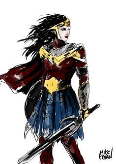 Wonder Woman by Mike Kevan #DC